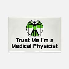 Medical Physicist Rectangle Magnet