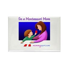 Unique Maria montessori Rectangle Magnet (10 pack)