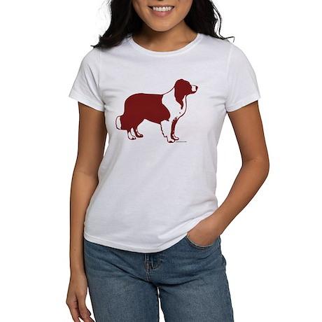 Border Collie Line Art Women's T-shirt