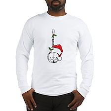 Banjo Santa Long Sleeve T-Shirt