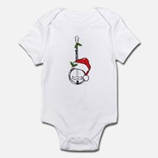 Banjo Santa Infant Bodysuit