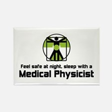 Medical Physicist Rectangle Magnet