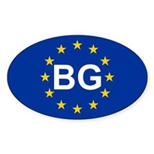 EU Bulgaria Decal