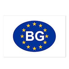 EU Bulgaria Postcards (Package of 8)