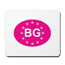 EU Pink Bulgaria Mousepad