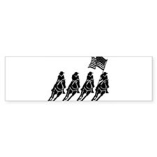 Cowgirly Riders Bumper Bumper Sticker
