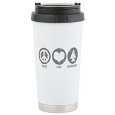 Peace Love Archaeology Travel Coffee Mug