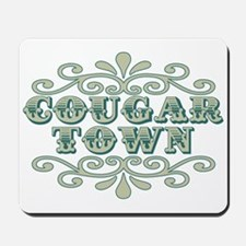 Couger Town Mousepad