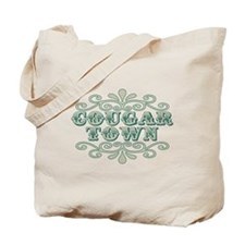 Couger Town Tote Bag