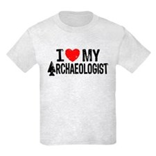 I Love My Archaeologist T-Shirt