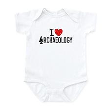 I Love Archaeology Infant Bodysuit
