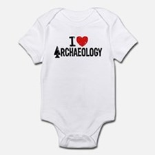 I Love Archaeology Onesie