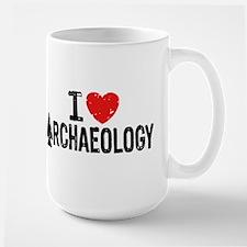 I Love Archaeology Mug