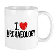 I Love Archaeology Mug