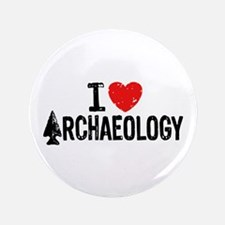"I Love Archaeology 3.5"" Button"