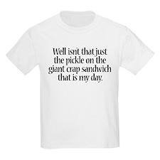 Giant Crap Sandwich T-Shirt