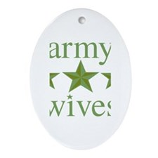 Army Wives Ornament (Oval)
