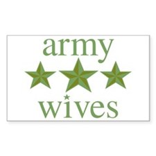 Army Wives Decal