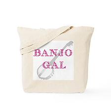 Banjo Gal Tote Bag