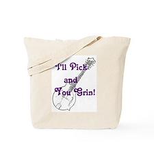 Grin and Mandolin Tote Bag
