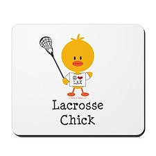 Lacrosse Chick Mousepad