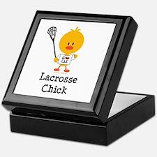 Lacrosse Chick Keepsake Box