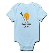 Lacrosse Chick Infant Bodysuit