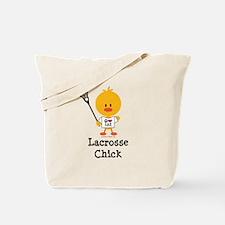 Lacrosse Chick Tote Bag