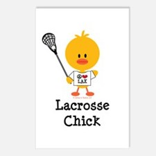 Lacrosse Chick Postcards (Package of 8)
