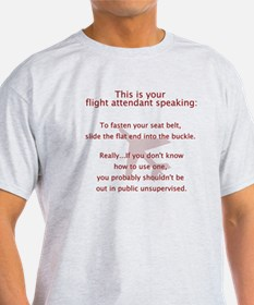 This Is A Seatbelt T-Shirt