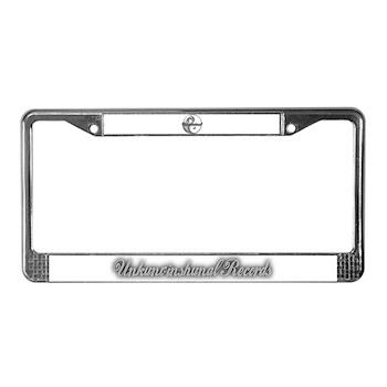 Unkunvinshunal License Plate Frame