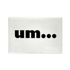 UM... Rectangle Magnet (100 pack)