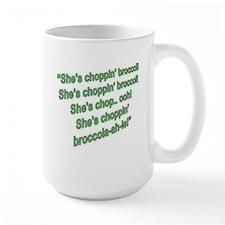 Choppin Broccoli Mug