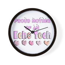 echo tech Wall Clock