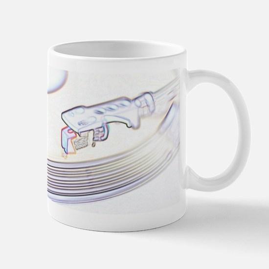 RecordPlayerWhite Mug