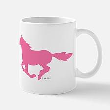 HORSE (Pink) Small Small Mug