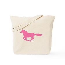 HORSE (Pink) Tote Bag