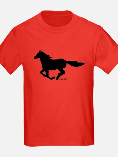 HORSE (black) T