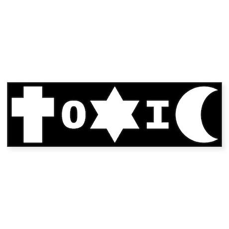 ToXiC Superstition Bumper Sticker
