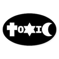 ToXiC Faith Logo Oval Decal