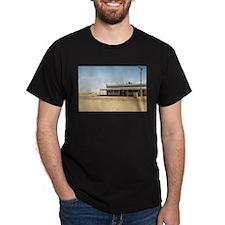 Great Outback Australia Scene Black T-Shirt