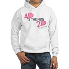 Heart 40 is the New 20 Hoodie