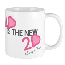 Heart 40 is the New 20 Small Mug