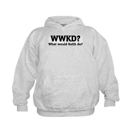 What would Keith do? Kids Hoodie