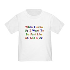 Glenn Beck when I grow up T