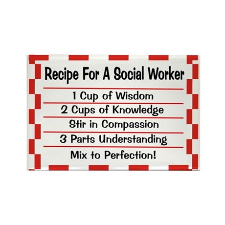 Social Worker II Rectangle Magnet (10 pack)
