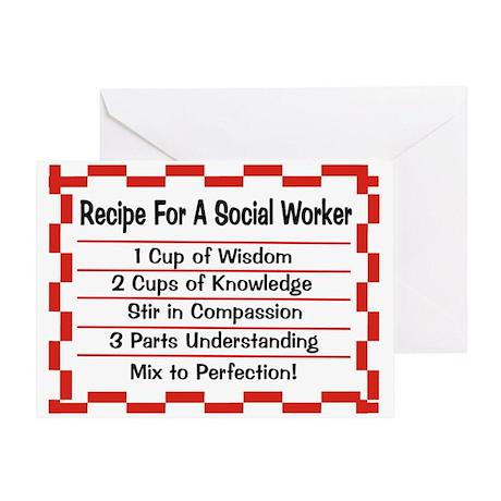 Social Worker II Greeting Card
