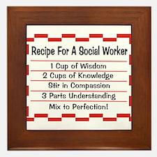 Social Worker II Framed Tile