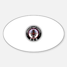 Death and Taxes Gear Oval Decal