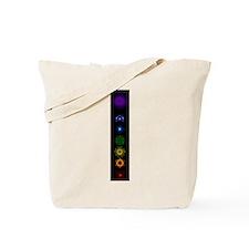 Chakra Symbols Tote Bag